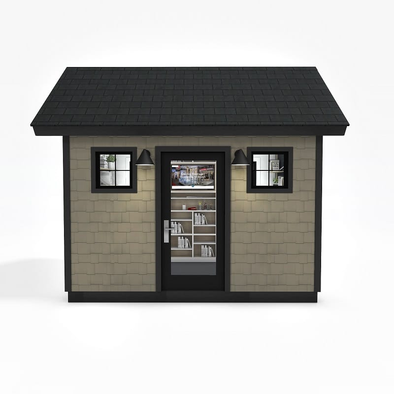 Distance Learning Home School Shed Exterior 1 - featured image