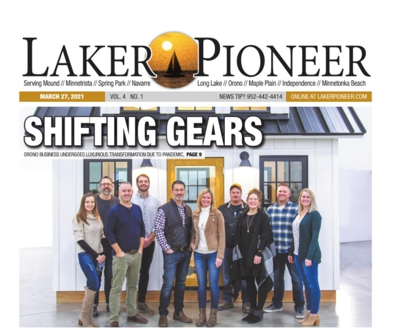 Shifting Gears - Orono Business Undergoes Luxurious Transformation - Laker Pioneer March 21 2021