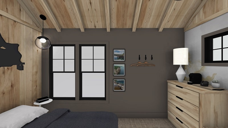 Up North Cabin Guest Bunk House Interior - featured image